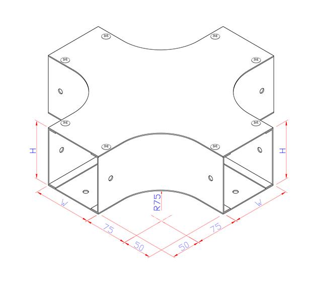 Cross Horizontal